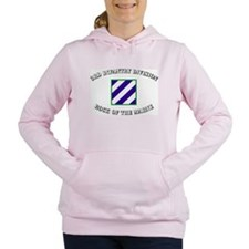 Cute 2nd infantry division Women's Hooded Sweatshirt
