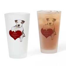 Cool Dog nightshirts Drinking Glass