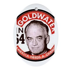 Goldwater-2 Oval Ornament
