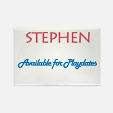 Stephen - Available for Playd Rectangle Magnet (10
