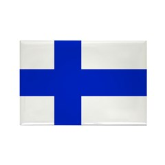 Finland Rectangle Magnet (10 pack)