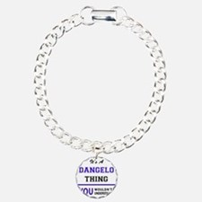 It's DANGELO thing, you Charm Bracelet, One Charm