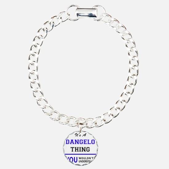It's DANGELO thing, you Charm Bracelet, One Charm