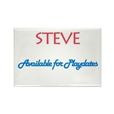 Steve - Available for Playdat Rectangle Magnet (10