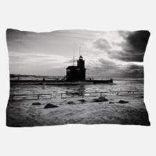 Cold As Ice BW Pillow Case