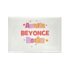 Beyonce Rectangle Magnet