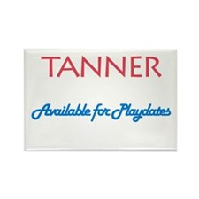 Tanner - Available for Playda Rectangle Magnet (10