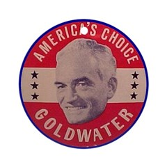 Goldwater-1 Ornament (Round)