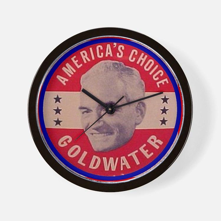 Goldwater-1 Wall Clock