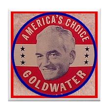 Goldwater-1 Tile Coaster