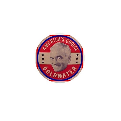 Goldwater-1 Mini Button (100 pack)