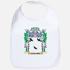 Lawson Coat of Arms - Family Crest Bib