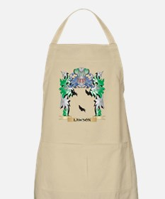 Lawson Coat of Arms - Family Crest Apron