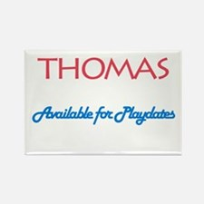 Thomas - Available for Playda Rectangle Magnet (10