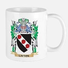 Layton Coat of Arms - Family Crest Mugs