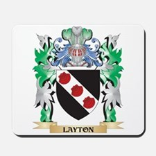 Layton Coat of Arms - Family Crest Mousepad