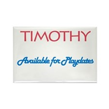 Timothy - Available for Playd Rectangle Magnet (10