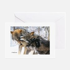 Wolf Timbers Pack Greeting Cards