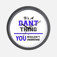 It's DANT thing, you wouldn't understan Wall Clock