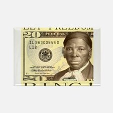 Harriet Tubman $20 Bill Rectangle Magnet