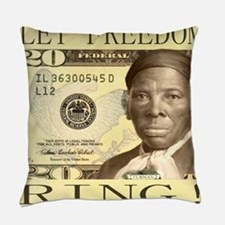 Harriet Tubman $20 Bill Everyday Pillow