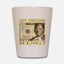 Harriet Tubman $20 Bill Shot Glass