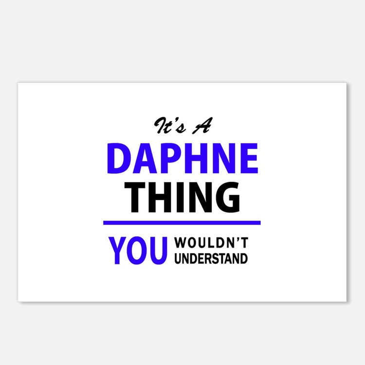 It's DAPHNE thing, you wo Postcards (Package of 8)