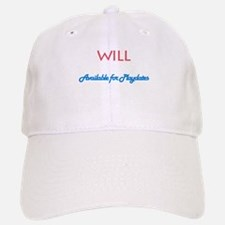 Will - Available for Playdate Baseball Baseball Cap