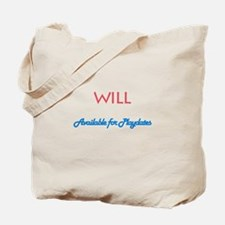 Will - Available for Playdate Tote Bag