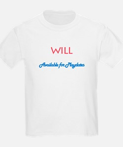 Will - Available for Playdate T-Shirt
