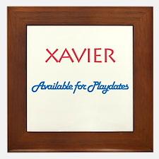 Xavier - Available for Playda Framed Tile