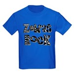 Zebras Rock Zebra Zoo Animal Kids Dark T-Shirt