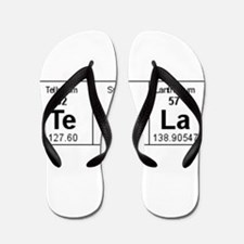 Unique Periodic table of the elements Flip Flops