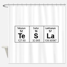 Cute Periodic table of the elements Shower Curtain