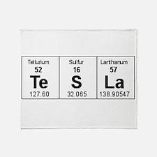 Cute Chemistry nerd Throw Blanket