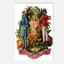 Wisconsin Coat of Arms Postcards (Package of 8)