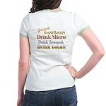 Corporate Beer Sucks Jr. Ringer T-shirt