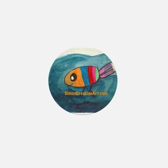 Unique Simon Mini Button