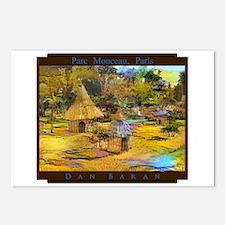 Parc Monceau, Paris Postcards (Package of 8)