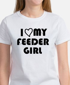 I Luv My Feeder Girl Women's T-Shirt