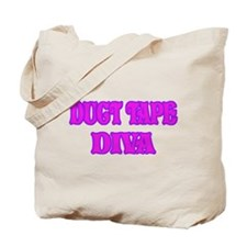 Duct Tape Diva Tote Bag