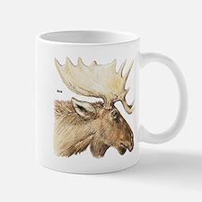Moose Antler Head Mug