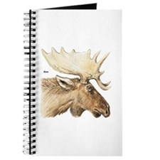 Moose Antler Head Journal