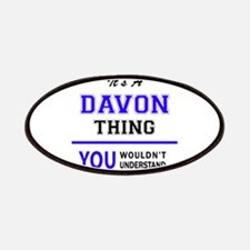 It's DAVON thing, you wouldn't understand Patch