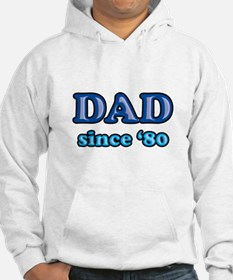 Dad Since 1980 Father's Day Hoodie