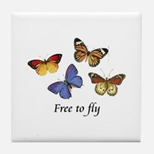 Free To Fly Tile Coaster