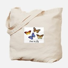 Free To Fly Tote Bag