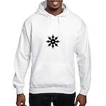 Ninja Star Hooded Sweatshirt