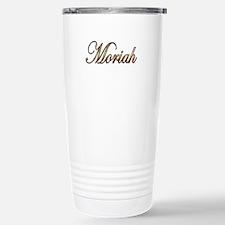 Gold Moriah Travel Mug