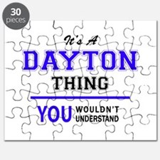 It's DAYTON thing, you wouldn't understand Puzzle
